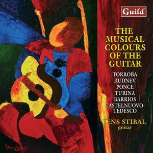 The Musical Colours of the Guitar