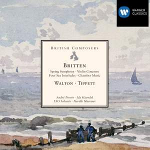 Britten, Walton & Tippett