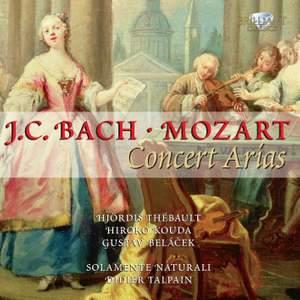 JC Bach & Mozart: Concert Arias