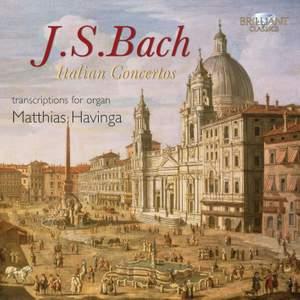 JS Bach: Italian Concertos (arrangements for organ) Product Image
