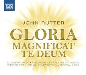Rutter: Gloria, Magnificat & Te Deum Product Image
