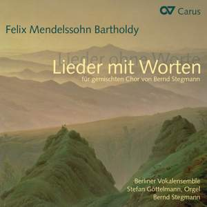 Mendelssohn: Lieder mit Worten