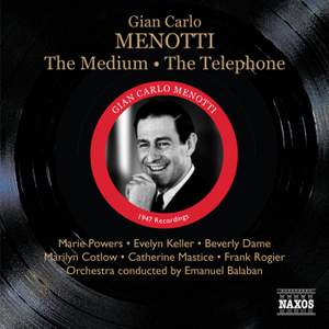 Menotti: The Medium & The Telephone
