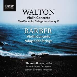 Walton & Barber: Violin Concertos