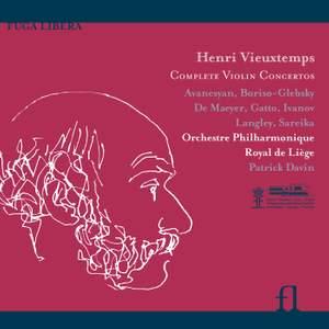 Vieuxtemps: Complete Violin Concertos Product Image