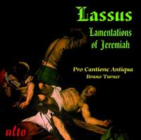 Lasso: Lamentations of Jeremiah