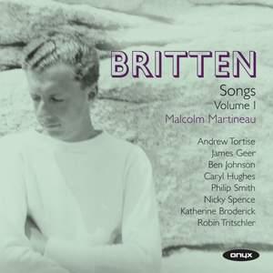 Britten: Complete Songs Volume 1