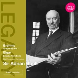 Sir Adrian Boult conducts Elgar & Brahms