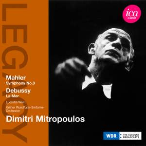 Dimitri Mitropoulos conducts Debussy & Mahler Product Image