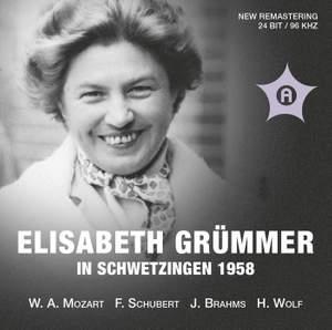 Elisabeth Grümmer in Schwetzingen 1958