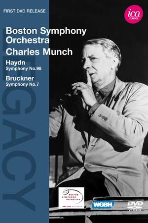 Charles Munch conducts Bruckner & Haydn