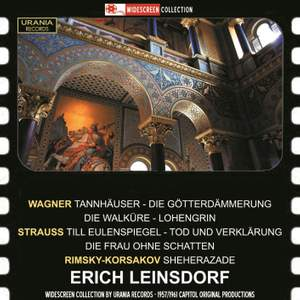 Erich Leinsdorf conducts Strauss, Wagner and Rimsky-Korsakov