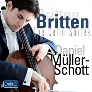 Britten: Suites for cello solo, Nos. 1-3