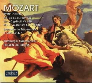 Mozart: Symphonies Nos. 39-41