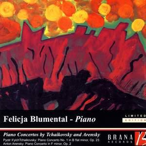 Tchaikovsky & Arensky: Piano Concertos