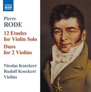 Pierre Rode: 12 Etudes for Violin Solo
