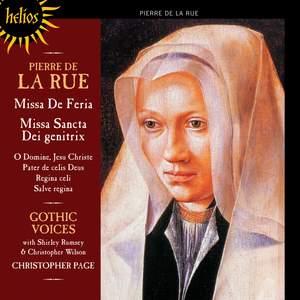 Pierre de la Rue: Missa de Feria & Missa Sancta Dei Genitrix Product Image