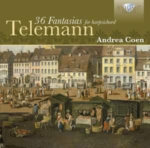 Telemann: Fantasias (36) for harpsichord, TWV 33