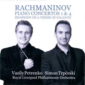 Rachmaninov: Piano Concertos Nos. 1 & 4 and Rhapsody on a Theme of Paganini Product Image