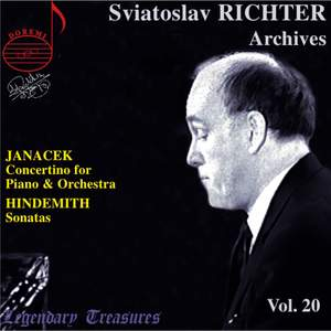 Sviatoslav Richter Archives, Volume 20