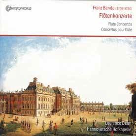 Franz Benda: Flute Concertos