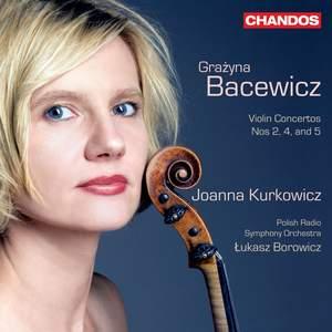 Grażyna Bacewicz: Violin Concertos, Volume 2 Product Image
