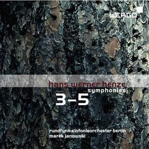Henze: Symphonies Nos. 3-5