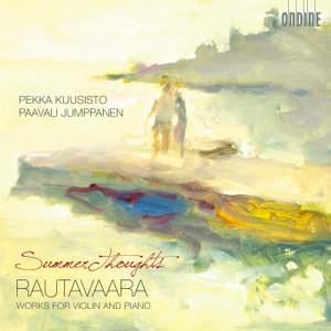 Rautavaara: Works for Violin and Piano