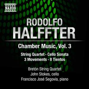 Rodolfo Halffter: Chamber Music, Volume 3