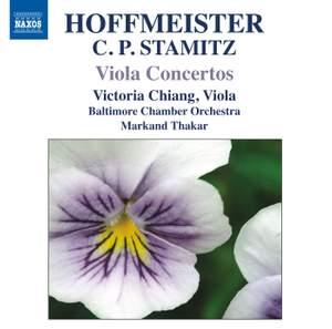 Hoffmeister & CP Stamitz: Viola Concertos