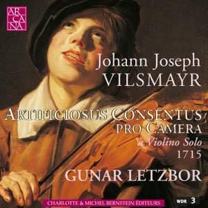 Vilsmayr: Artificiosus Concentus pro Camera a Violin Solo
