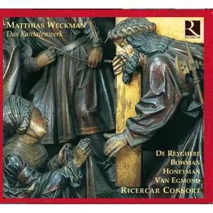 Matthias Weckmann: Complete Cantatas