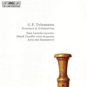 Telemann: Overture and Concerti