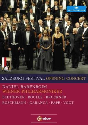 Salzburg Festival Opening Concert 2010 Product Image