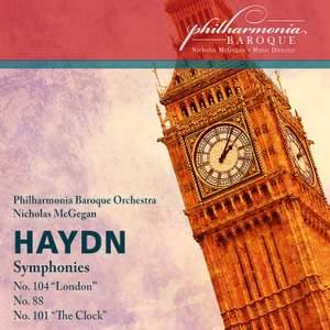 Haydn: Symphonies 88, 101 'Clock' & 104 'London'