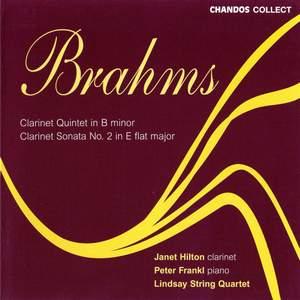 Brahms: Clarinet Quintet and Clarinet Sonata No. 2 Product Image
