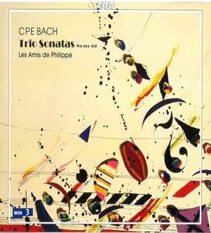 CPE Bach: Trio Sonatas Wq 144-151