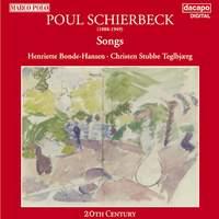 Poul Schierbeck: Songs - Dacapo: 8224017 - CD or download   Presto ...