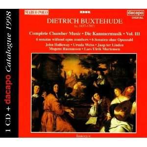 Buxtehude: Complete Chamber Works, Vol. III