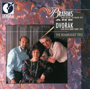 Piano Trios of Brahms and Dvorak Product Image