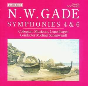 Niels Gade: Symphonies 4 & 6 Product Image
