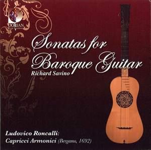 Roncalli: Sonatas for Baroque Guitar Product Image