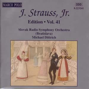 Johann Strauss II Edition, Volume 41