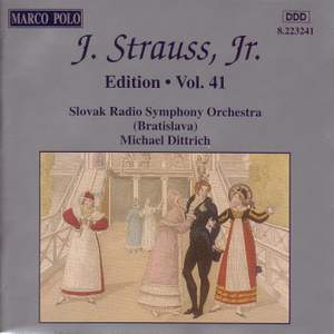 Johann Strauss II Edition, Volume 41 Product Image