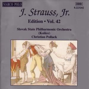 Johann Strauss II Edition, Volume 42