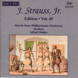 Johann Strauss II Edition, Volume 45