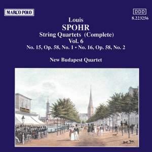 Louis Spohr: String Quartets, Volume 6