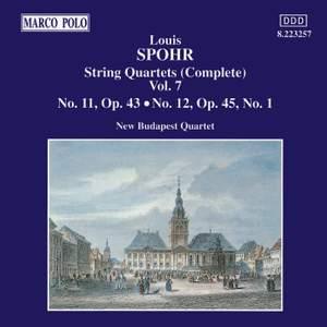 Louis Spohr: String Quartets, Volume 7