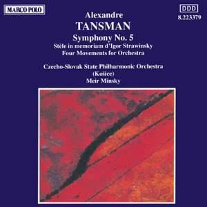 Tansman: Symphony No. 5
