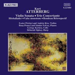 Atterberg: Violin Sonata & Trio Concertante Product Image